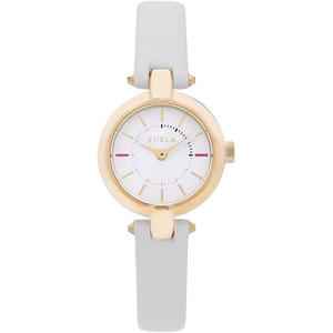 Furla R4251106502 Donna 24mm Acciaio Pelle Bianco Opaco Bianco Quarzo/Solo Tempo